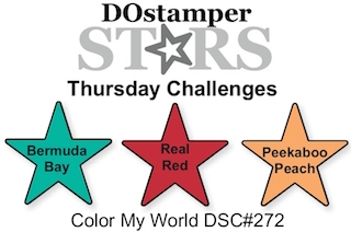 DOstamperSTARS Thursday Challenge #272-Color My World #dostamping