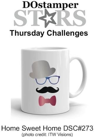 DOstamperSTARS Thursday Challenge #273-Home Sweet Home #dostamping