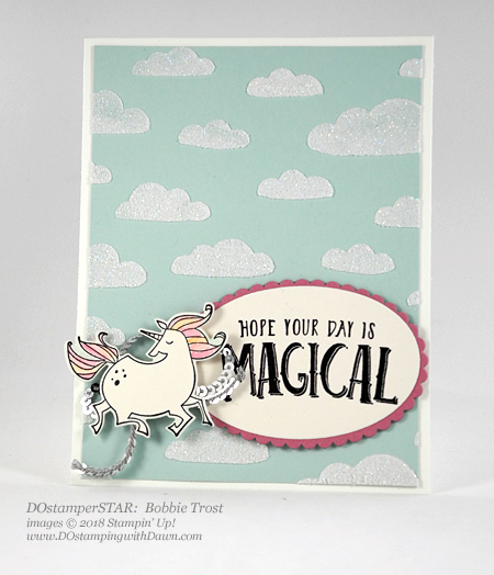 Stampin' Up! Embossing Paste & Magical Day shared by Dawn Olchefske #dostamping  #stampinup #handmade #cardmaking #stamping #diy #rubberstamping #papercrafting (DOstamperSTAR Bobbie Trost)