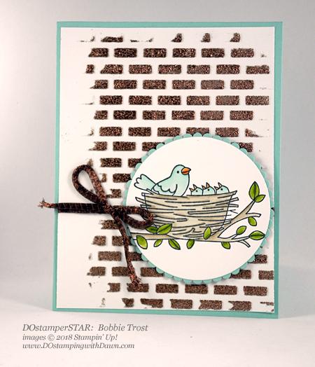 Stampin' Up! Embossing Paste & Flying Home shared by Dawn Olchefske #dostamping #stampinup #handmade #cardmaking #stamping #diy #rubberstamping #papercrafting (DOstamperSTAR Bobbie Trost)