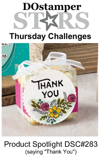 DOstamperSTARS Thursday Challenge #283 - Product Spotlight #dostamping #stampinup