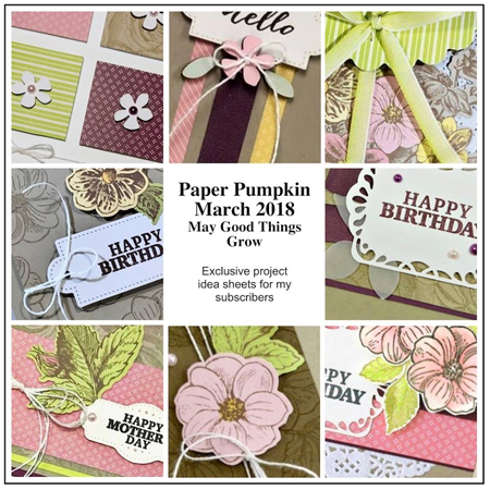Paper Pumpkin Bonus from DOstamping, subscribe at https://mypaperpumpkin.com?demoid=61500 #paperpumpkin #stampinup #cardkits #dostamping