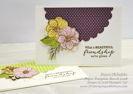 May Good Things Grow March 2018 Paper Pumpkin Kit ideas by Dawn Olchefske #stampinup #paperpumpkin #cardmaking #cardkit #rubberstamping #diy #MayGoodThingsGrow
