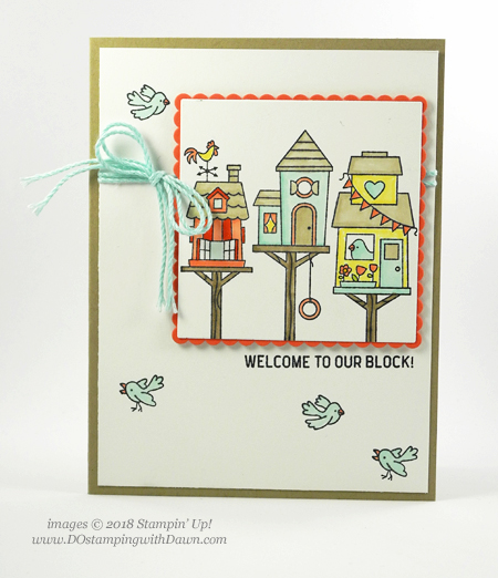 Stampin' Up! Flying Home and In The City card shared by Dawn Olchefske for DOstamperSTARS Thursday Challenge #DSC278 #dostamping #stampinup #handmade #cardmaking #stamping #diy #rubberstamping #papercrafting #flyinghomestampset #inthecitystampset #stampinblends