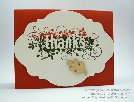#cardmaking #dawnolchefske #diy #dostamping #papercrafting #stampinup #seasonallyscattered