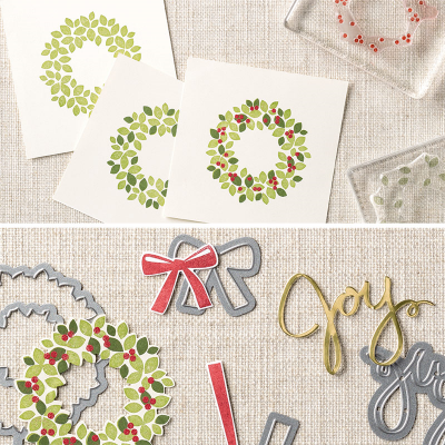 #stampinup #framelits Wonderous Wreath Framelits Bundle