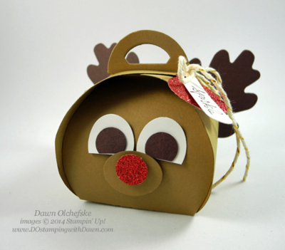 Curvy Keepsake Box Thinlit Die by Stampin' Up! - project created by Dawn Olchefske, dostamping for 12 Weeks of Christmas Newsletter.  Sign up for free newsletter at www.dostampingwithdawn.com