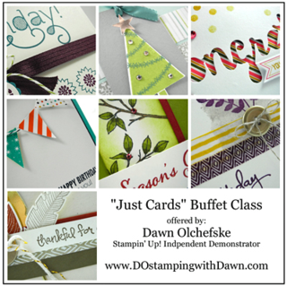 DOstamping Card Buffet Class TO GO, October 2014