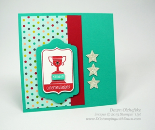 #dostamping, #stampinup  Tag It, Chalk Talk Framelits, quick & cute