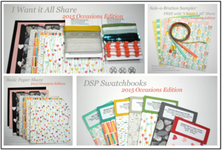 2015 Occasions Catalog Product shares offered by Dawn Olchefske #dostamping #stampinup