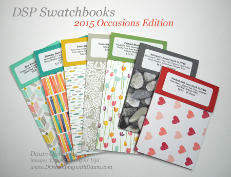 2015 Occasions Catalog Swatchbooks offered for sale by Dawn Olchefske #dostamping #stampinup