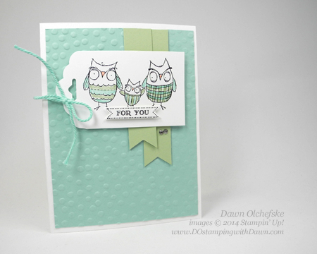 Baby We've Grown card designed by Dawn Olchefske #dostamping #stampinup