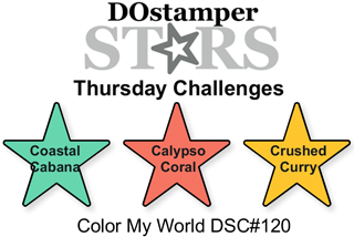 DOstamperSTARS Thursday Challenge #120 Color Combo #dostamping #stampinup