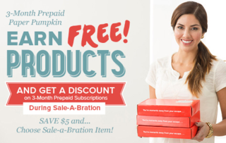 Save $5 on 3-month Paper Pumpkin, subscription with Dawn Olchefske #dostamping #stampinup