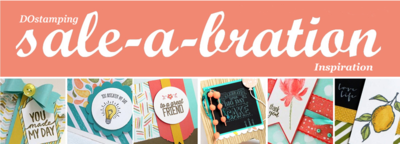 Sale-A-Bration Inspiration for DOstamping VIP Customers of Dawn Olchefske #stampinup #SAB