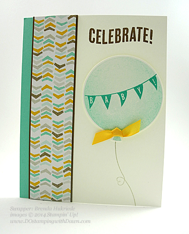 Sale-a-Bration Best Year Ever DSP Swaps shared by Dawn Olchefske #dostamping #stampinup (Brenda Hukreide)