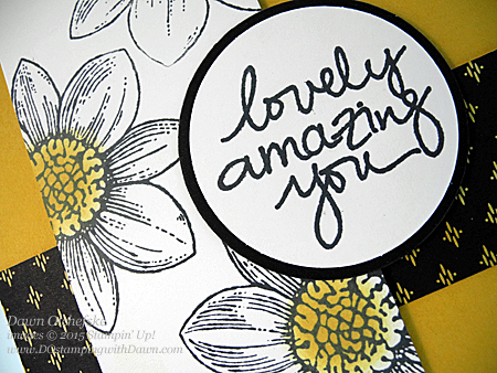 Petal Potpourri Bundle (save 15%) card with Lovely Amazing You photopolymer (Feb Release) card created by Dawn Olchefske #dostamping #stampinup