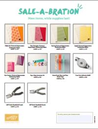 More 2015 Sale-a-Bration #dostamping #stampinup