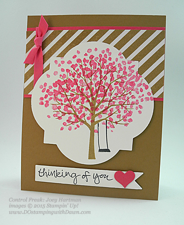 2015 Occasions Sheltering Tree swaps share by Dawn Olchefske #dostamping #stampinup (Joey Hartman)