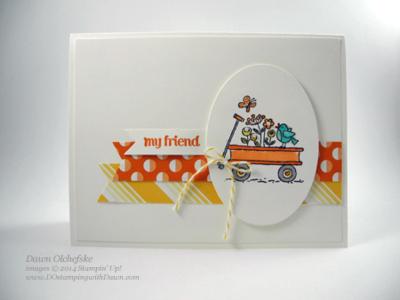 For the Birds Card Shared by Dawn Olchefske #dostamping #stampinup