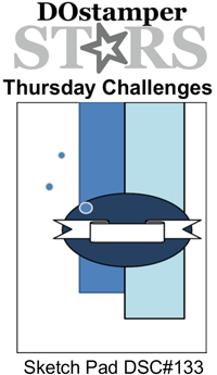 DOstamperSTARS Thursday Sketch Pad Challenge DSC#133