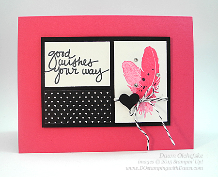 Feb Photopolymer Release of Lovely Amazing You card created by Dawn Olchefske #dostamping #stampinup