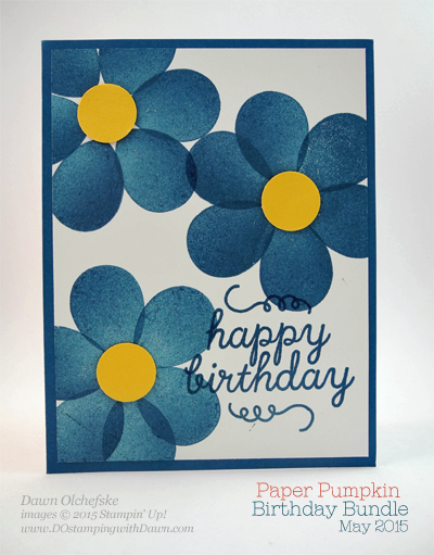 May 2015 Paper Pumpkin alternate ideas by Dawn Olchefske #dostamping #stampinup