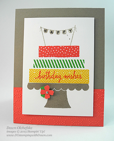 Build a Birthday cards by Dawn Olchefske #dostamping #stampinup