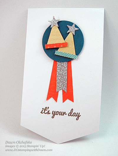 It's Your Day Party Hat shared by Dawn Olchefske #dostamping #stampinup