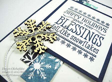 Six Sayings & Season of Cheer card shared by Dawn Olchefske for DOstamperSTARS Thursday Challenge DSC#148 #dostamping #stampinup