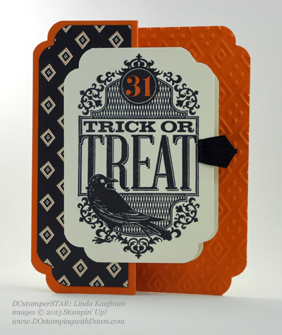 DOstamperSTARS Halloween swap cards shared by Dawn Olchefske #dostamping #stampinup Linda Kaufman