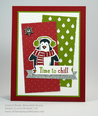Snow Place Bundle swap cards shared by Dawn Olchefske #dostamping #stampinup (Mary Beth Brown)