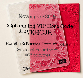 DOstamping November VIP Host Code Gift, Dawn Olchefske