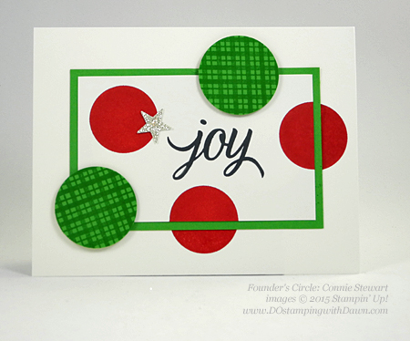 Your Presents swap card shared by Dawn Olchefske #dostamping #stampinup (Connie Stewart)