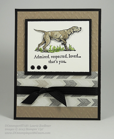 Wilderness Awaits card shared by Dawn Olchefske #dostamping #stampinup (Laurie Zoellmer)