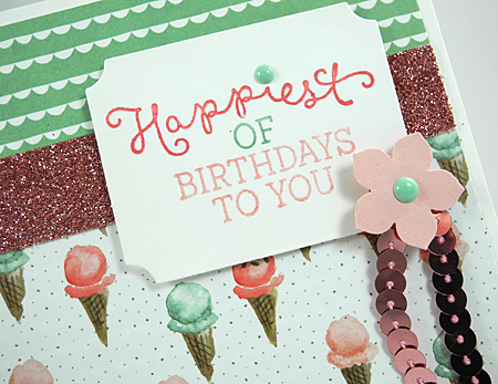 Birthday Bouquet Occasions Catalog sneak peek card by Dawn Olchefske for DOstamperSTARS Thursday Challenge DSC#160 #dostamping #stampinup