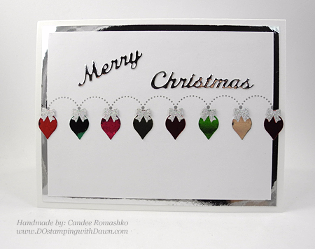 Handmade Christmas cards shared by Dawn Olchefske #dostamping #stampinup (Candee Romashko)