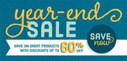 Stampin' Up! Year End Sale #dostamping