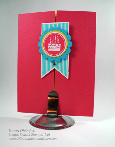 Peek a Boo Card shared by Dawn Olchefske #dostamping #stampinup