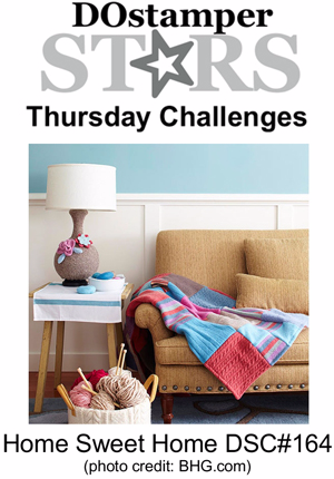 DOstamperSTARS Thursday Challenge #DSC164 #dostamping #stampinup