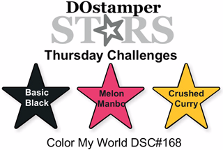 DOstamperSTARS Thursday Challenge #DSC168 #dostamping #stampinup