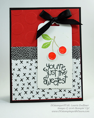 Apple of My Eye card by Laurie Zoellmer shared by Dawn Olchefske #dostamping #stampinup