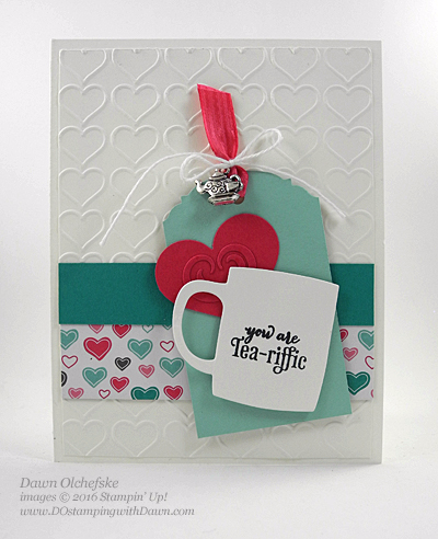A Nice Cuppa card created by Dawn Olchefske for DOstamperSTARS Thursday Challenge #DSC166 #dostamping #stampinup
