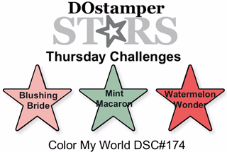DSC#174 DOstamperSTARS Thursday Color Challenge