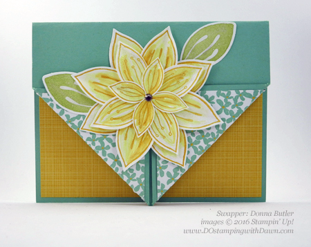 Festive Flower Builder Punch 03/15/2016 Weekly Deal cards shared by Dawn Olchefske #dostamping #stampinup (Donna Butler)
