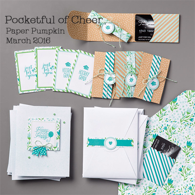 Pocketful of Cheer Paper Pumpkin refill kit shared by Dawn Olchefske #dostamping #stampinup