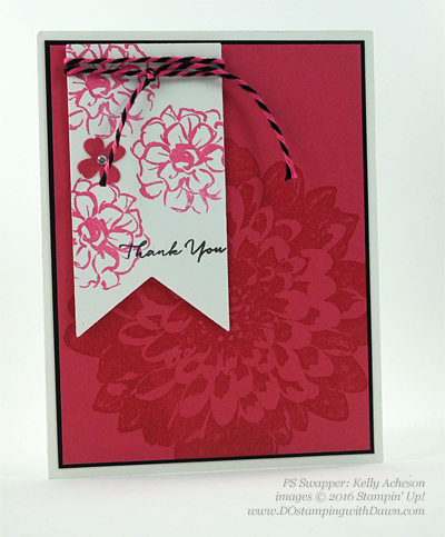 What I Love swap cards shared by Dawn Olchefske #dostamping #stampinup (Kelly Acheson)