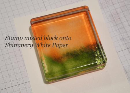 Misted Block Technique card created by Dawn Olchefske for DOstamperSTARS Thursday Challenge #DSC175 #dostamping #stampinup