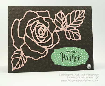 Rose Wonder Bundle card swap shared by Dawn Olchefske #dostamping #stampinup (Heidi Vinkemeier)