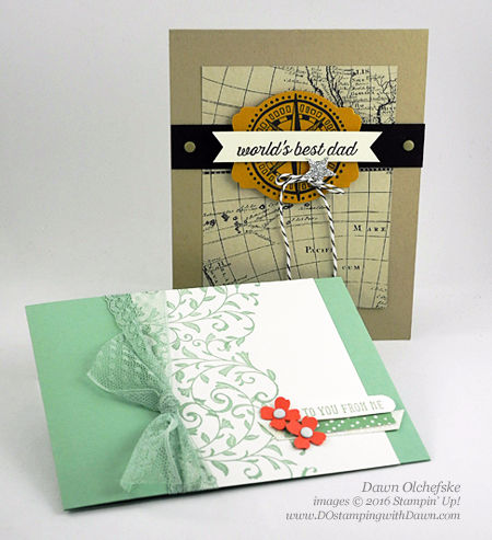 Going Global & First Sight card created by Dawn Olchefske for Control Freak Blog Tour #dostamping #stampinup